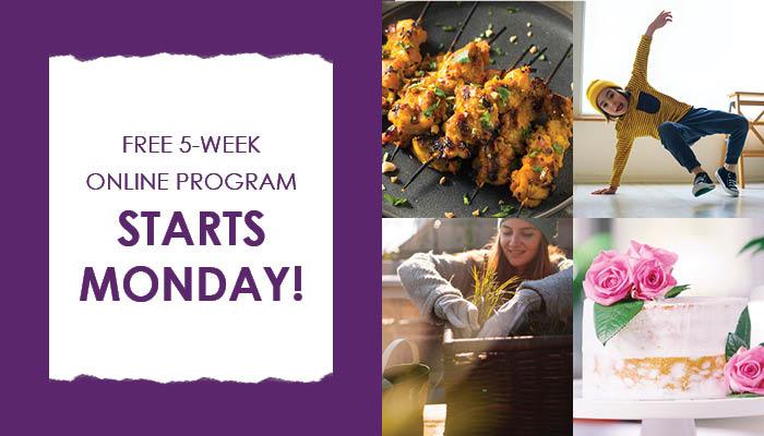 Free 5-Week Online Program Series 3 Starts Monday